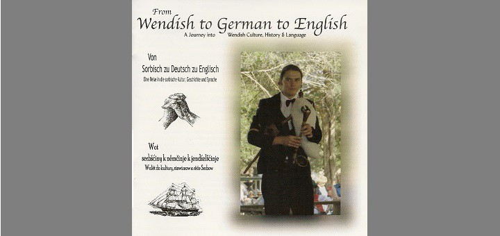 cover art for CD titled From Wendish to German to English