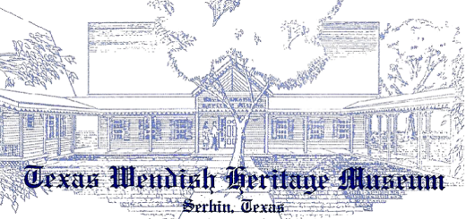 Texas Wendish Heritage Museum flyer graphic