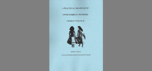 A Practical Grammer of Upper Sorbian (Wendish)