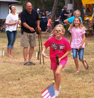 Stick Horse Racing Competition